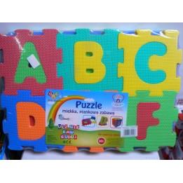 Mata piankowa alfabet i cyfry