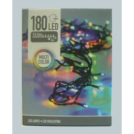 Oświetlenie choinkowe LED 180 multikolor