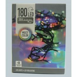 Oświetlenie choinkowe LED 180 multikolor z programatorem