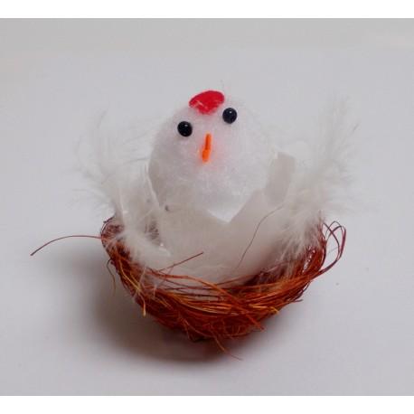 Kurczak wielkanocny w koszyku 4,5 cm