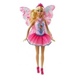 Lalka Barbie Wróżka z Kolorowymi Skrzydłami CBR13