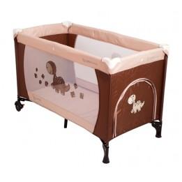 Łóżeczko Turystyczne Kojec Coto Baby Samba Brown