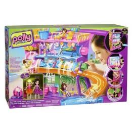 Polly Pocket Domek dla lalek Hotel na przyssawki Mattel X1290