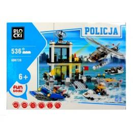 Klocki Blocki Policja Straż Przybrzeżna KB6726