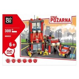 Kocki Blocki Straż Pożarna Remiza KB8052