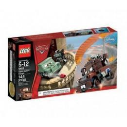 Klocki Lego 9483 - Cars - Ucieczka Agenta Złomka