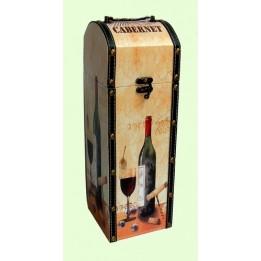 Pudełko Opakowanie Drewniane Na Alkohol Wino