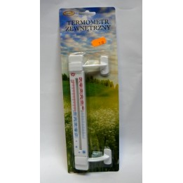 Termometr zewnętrzny plastikowy