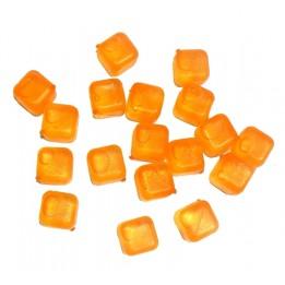 Kostki Lodu Lodowe do Drinków 18szt Pomarańczowe