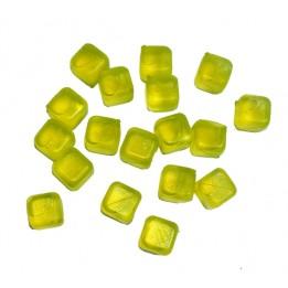 Kostki Lodu Lodowe do Drinków 18szt Żółte