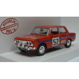 Kolekcja PRL Model FIAT 125p Rally skala 1:43 czerwony