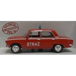 Kolekcja PRL Model Fiat 125p Straż skala 1:43