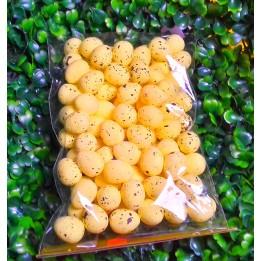 Jajeczka styropianowe nakrapiane - żółte