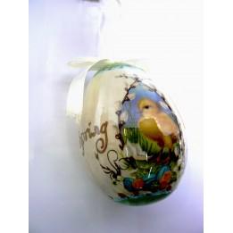 Zawieszka jajko styropianowe pisanka