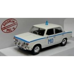 Kolekcja PRL Model FSO FIAT 125p Milicja skala 1:43