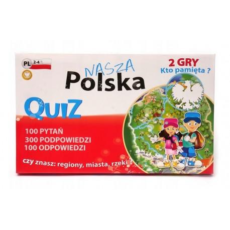 Quiz Nasza Polska gra edukacyjna