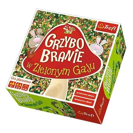 Gra Grzybobranie W Zielony Gaju TRefl