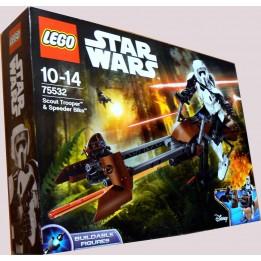 LEGO STAR WARS 75532 ZWIADOWCA SZTURMOWCÓW  - ŚMIGACZ