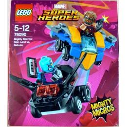 KLOCKI LEGO SUPER HEROES 76090 STAR-LORD KONTRA NEBULA