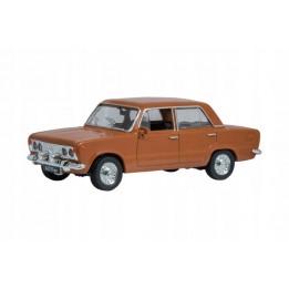 Kolekcja PRL Model FSO FIAT 125p skala 1:43 brązowy