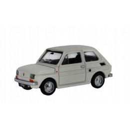 Kolekcje PRL Model FIAT 126p skala 1:43 biały