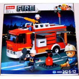 SLUBAN FIRE B0626 STRAŻ POŻARNA