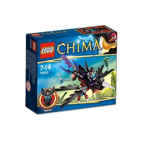 Klocki Lego 70000 - Chima - Szybowiec Razcala