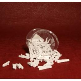 Opakowanie - Mini klamerki - białe